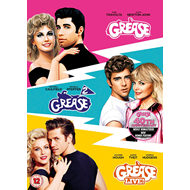 Grease/Grease 2/Grease Live! (UK-import) (DVD)