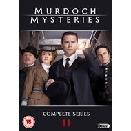 Murdoch Mysteries - Sesong 11 (UK-import) (DVD)