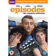 Produktbilde for Episodes - Sesong 1-5: The Complete Collection (UK-import) (DVD)