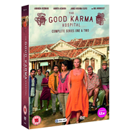 The Good Karma Hospital - Sesong 1 & 2 (UK-import) (DVD)