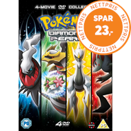 Produktbilde for Pokémon: The Movie Collection 10-13 (UK-import) (DVD)