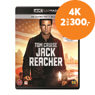 Produktbilde for Jack Reacher (4K Ultra HD + Blu-ray)