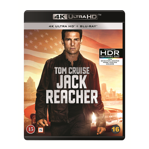 Jack Reacher (4K Ultra HD + Blu-ray)