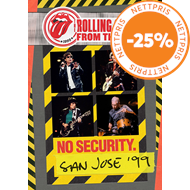 Produktbilde for The Rolling Stones - From The Vault: No Security - San Jose '99 (DVD)