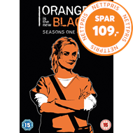Produktbilde for Orange Is The New Black - Sesong 1-5 (UK-import) (DVD)