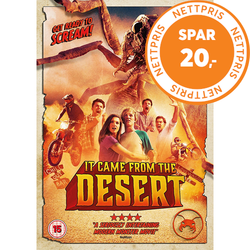 It Came From The Desert (UK-import) (DVD)