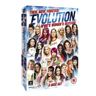 WWE: Then, Now, Forever - The Evolution Of WWE's Women's Division (UK-import) (DVD)