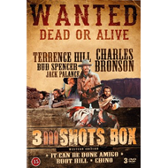 Produktbilde for 3 Shots Box- Western Edition (DK-import) (DVD)