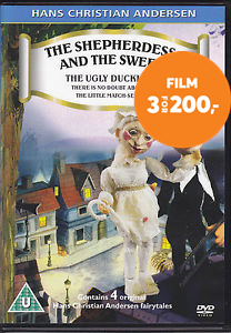Hans Christian Andersen 2: The Shepherdess And The Sweep (DK-import) (DVD)
