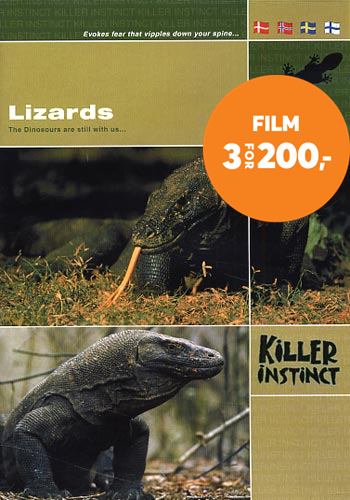 Lizards - Killer Instinct (DK-import) (DVD)