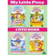 My Little Pony 1-4 (DK-import) (DVD)