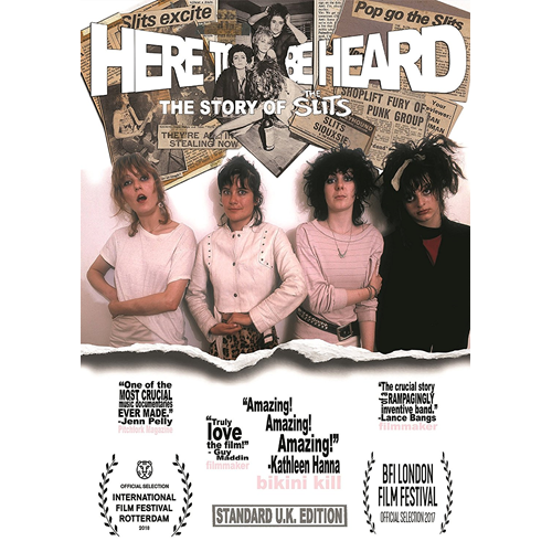 The Slits - Here To Be Heard: The Story Of The Slits (DVD)