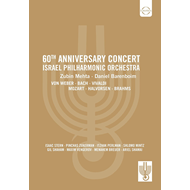 Produktbilde for Israel Philharmonic Orchestra - 60th Anniversary Concert (DVD)