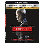 Ex Machina (4K Ultra HD + Blu-ray)