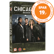 Produktbilde for Chicago P.D. - Sesong 4 (DVD)