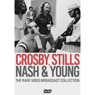 Produktbilde for CSNY - The Rare Video Broadcast Collection (DVD)