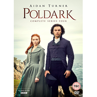 Poldark - Sesong 1-4 (UK-import) (DVD)