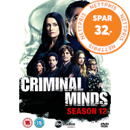 Produktbilde for Criminal Minds - Sesong 12 (UK-import) (DVD)