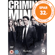 Produktbilde for Criminal Minds - Sesong 9 (UK-import) (DVD)