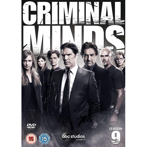 Criminal Minds - Sesong 9 (UK-import) (DVD)