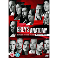 Produktbilde for Grey's Anatomy - Sesong 7 (UK-import) (DVD)