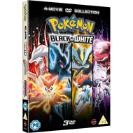 Produktbilde for Pokémon - The Movie Collection 14-16 - Black & White (UK-import) (DVD)