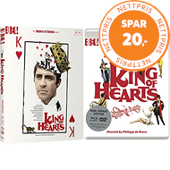 Produktbilde for King Of Hearts (UK-import) (Blu-ray + DVD)
