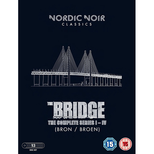 The Bridge: The Complete Series I-IV (UK-import) (DVD)