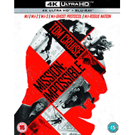Mission: Impossible 1-5 (UK-import) (4K Ultra HD + Blu-ray)