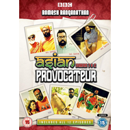 Asian Provocateur - Sesong 1+2 (UK-import) (DVD)