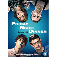 Produktbilde for Friday Night Dinner - Sesong 1-5 (UK-import) (DVD)