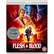 Produktbilde for Flesh And Blood (UK-import) (Blu-ray + DVD)