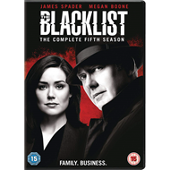 Produktbilde for The Blacklist - Sesong 5 (UK-import) (DVD)