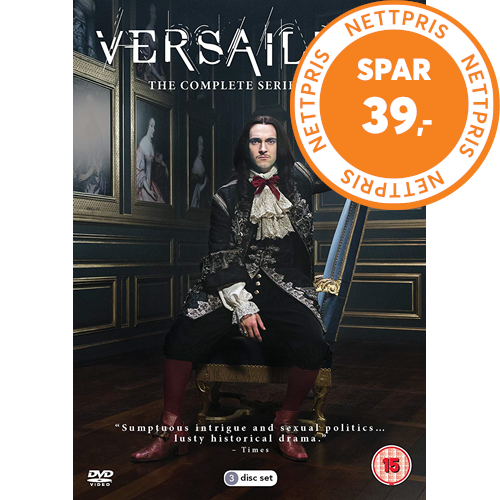 Versailles - Sesong 3 (UK-import) (DVD)