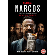 Narcos - Sesong 3 (UK-import) (DVD)