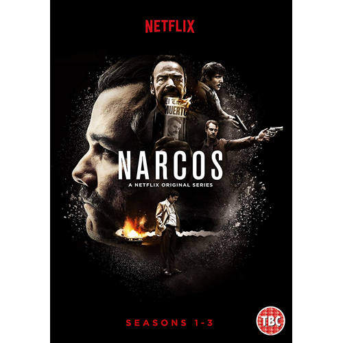 Narcos - Sesong 1-3 (UK-import) (DVD)