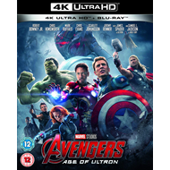Produktbilde for Avengers 2 - Age Of Ultron (UK-import) (4K Ultra HD + Blu-ray)