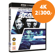 Produktbilde for 2 Fast 2 Furious (4K Ultra HD + Blu-ray)