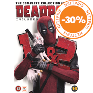 Produktbilde for Deadpool 1-2 - The Complete Collection (For Now) (DVD)