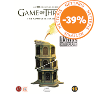 Produktbilde for Game Of Thrones - Sesong 6: Limited Robert Ball Edition (DVD)