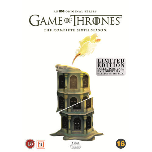 Game Of Thrones - Sesong 6: Limited Robert Ball Edition (DVD)