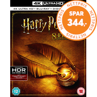 Produktbilde for Harry Potter: The Complete 8-Film Collection (UK-import) (4K Ultra HD + Blu-ray)