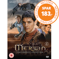 Produktbilde for Merlin - The Complete Collection (UK-import) (DVD)