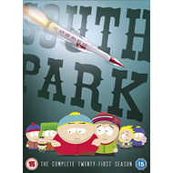South Park - Sesong 21 (UK-import) (DVD)