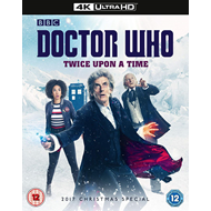 Produktbilde for Doctor Who: Twice Upon A Time - 2017 Christmas Special (UK-import) (4K Ultra HD + Blu-ray)
