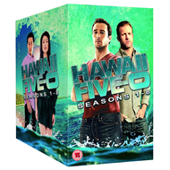 Hawaii Five-O - Sesong 1-8 (UK-import) (DVD)