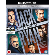 Jack Ryan: 5-Film Collection (UK-import) (4K Ultra HD + Blu-ray)