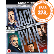 Produktbilde for Jack Ryan: 5-Film Collection (UK-import) (4K Ultra HD + Blu-ray)