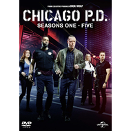 Chicago P.D. - Sesong 1-5 (UK-import) (DVD)