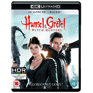 Produktbilde for Hansel And Gretel: Witch Hunters (UK-import) (4K Ultra HD + Blu-ray)